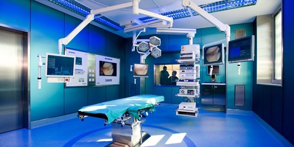 OP Saal im Orthopädischen Spital Speising